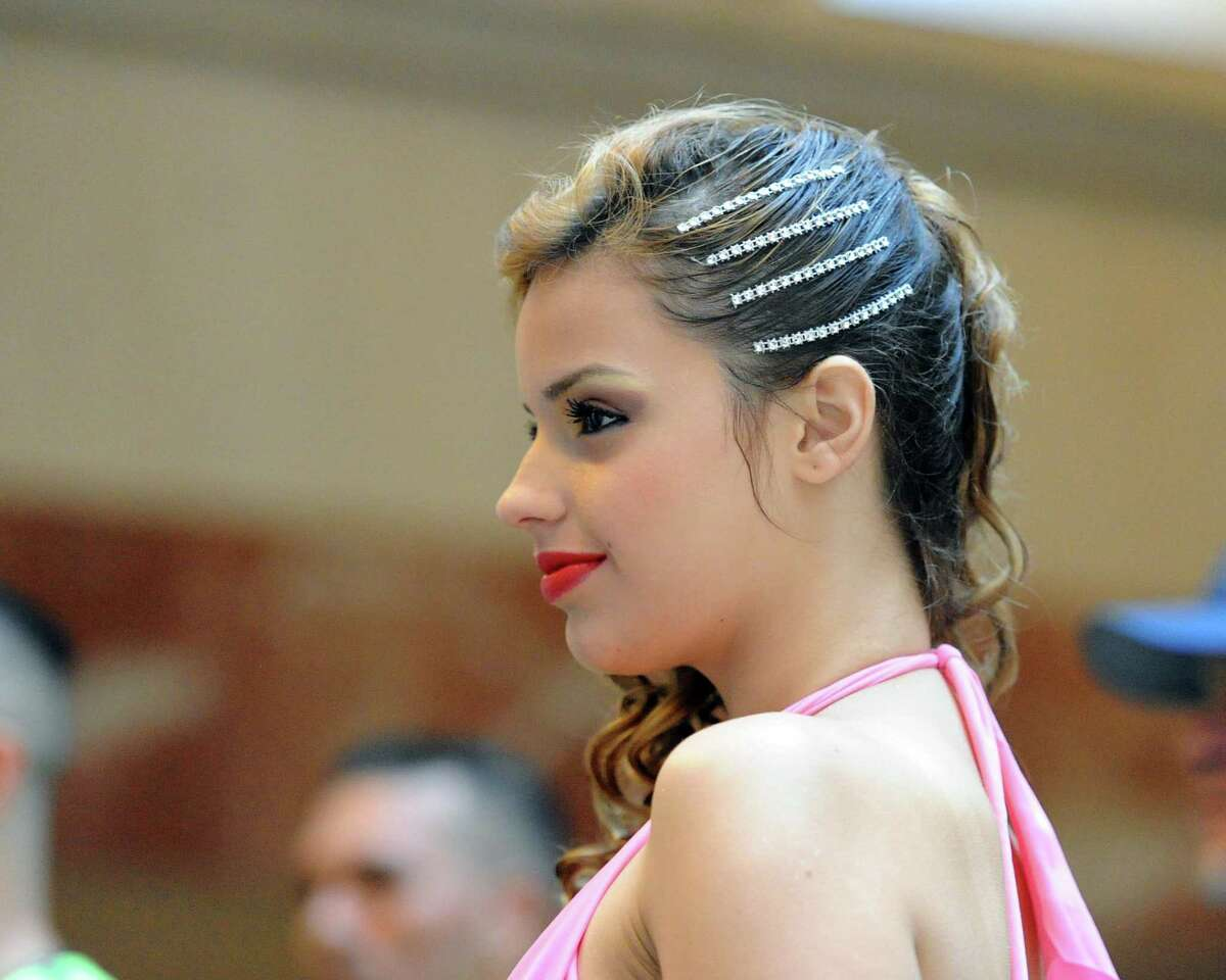 Salsa dancer Liz Andrea of Sky Dance Studio of Puerto Rico during the 11th annual Connecticut Salsa Dancing Fest at the Marriott Hotel & Spa in Stamford in 2015. After a year's hiatus and a new name, the Tri-State Dance Festival is returning to Stamford this weekend.