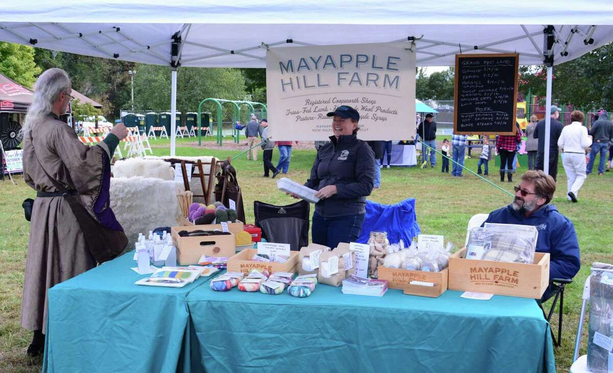 New Milford held it's inaugural Riverfest celebration on Saturday October 13, 2018 at Young's Field. The festival is a culmination of work by the towns Riverfront Revitalization Committee to attract more visitors to the area.