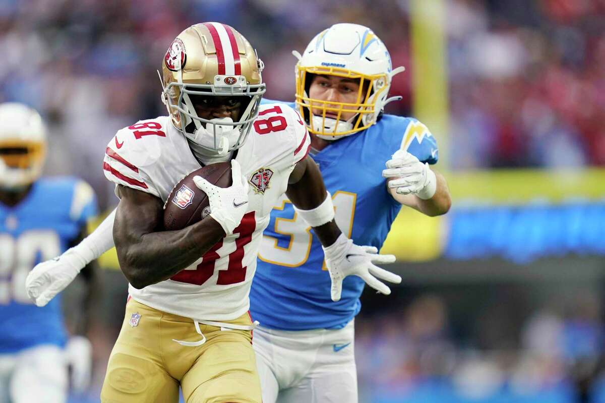 San Francisco 49ers wide receiver Trent Sherfield had five catches for 156 yards - the sixth-most in the NFL - in three exhibition games.