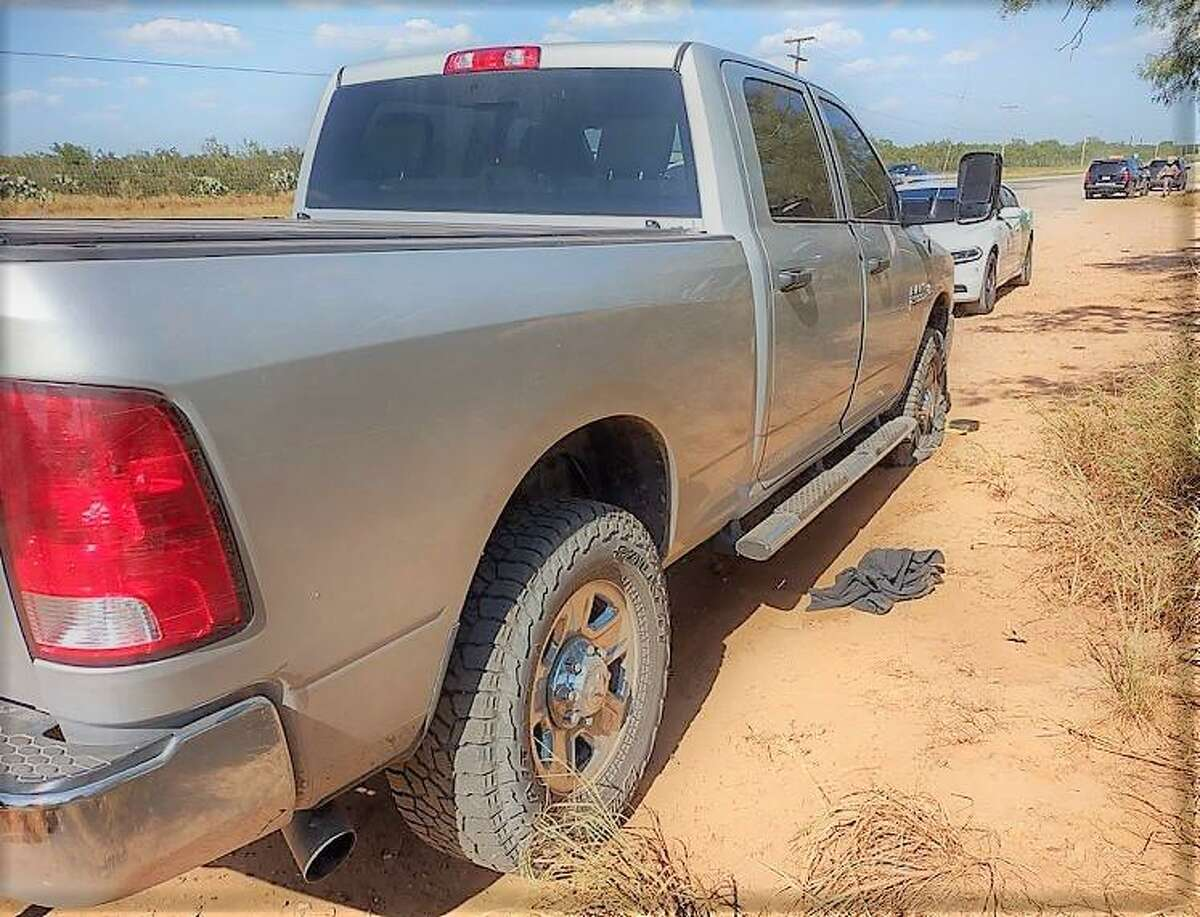 U.S. Border Patrol said this vehicle was transporting six individuals. All were determined to be migrants who had crossed the border illegally.