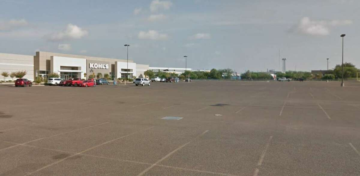 Pictured is the parking lot outside the Kohl's location in Laredo. Karla Yvonne Lozano allegedly delivered 23.25 pounds of cocaine to a buyer at the parking lot - one of her two alleged deliveries locally.