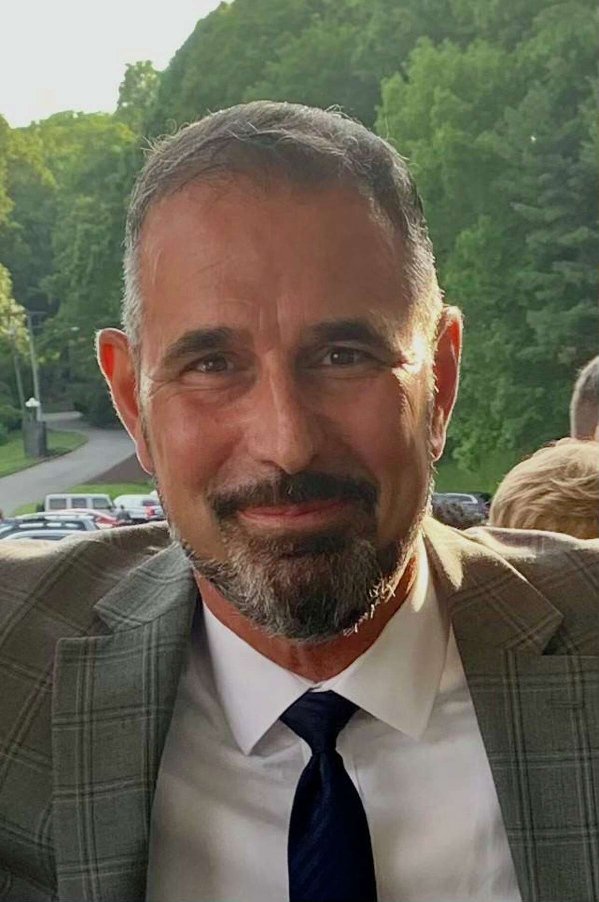 Mario Almeida is the new head of school and assistant superintendent at Joel Barlow High School in Redding.