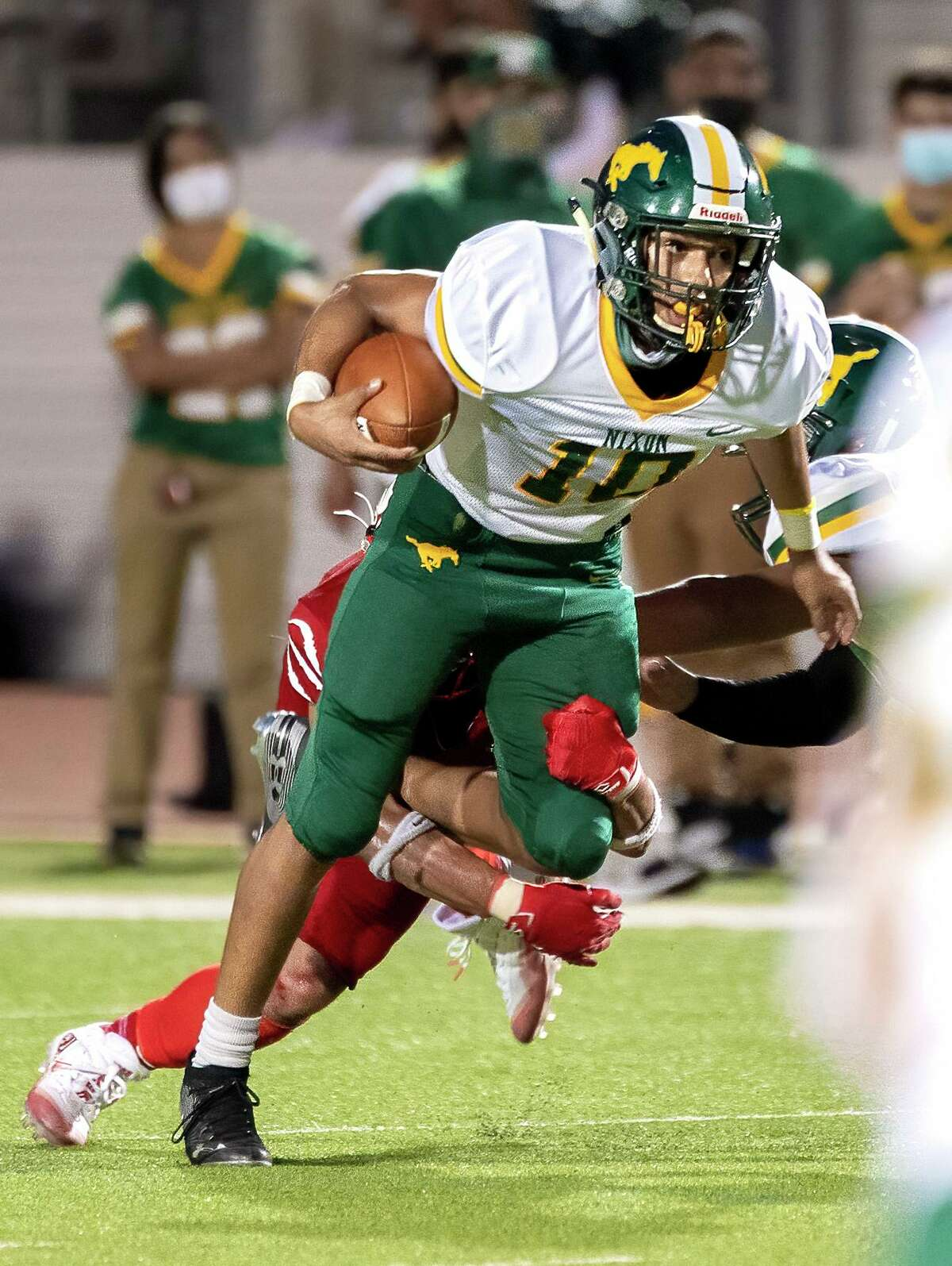 Ivan Diaz and the Nixon Mustangs are set to face off against the Cigarroa Toros on Friday.