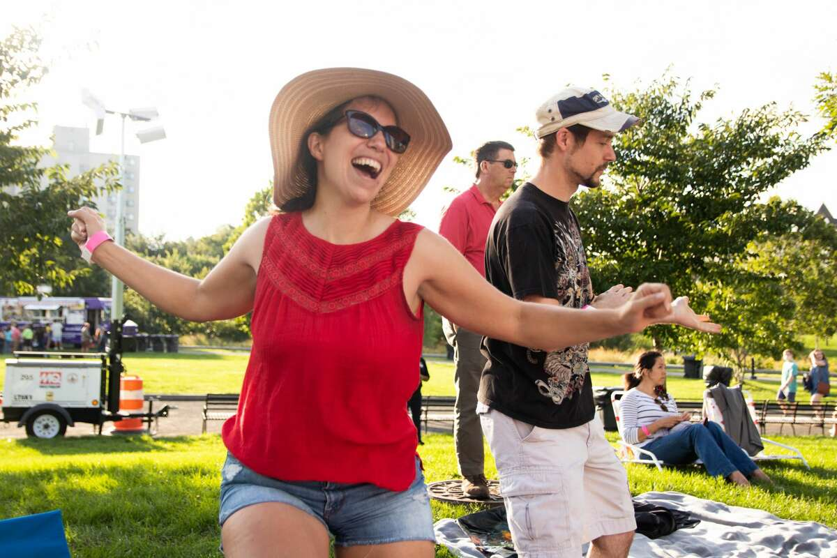 Stamford Downtown's Alive@Five concert series kicked off on Thursday, Sept. 2, 2021 with Jon Batiste at Mill River Park on 1040 Washington Boulevard. Were you SEEN?