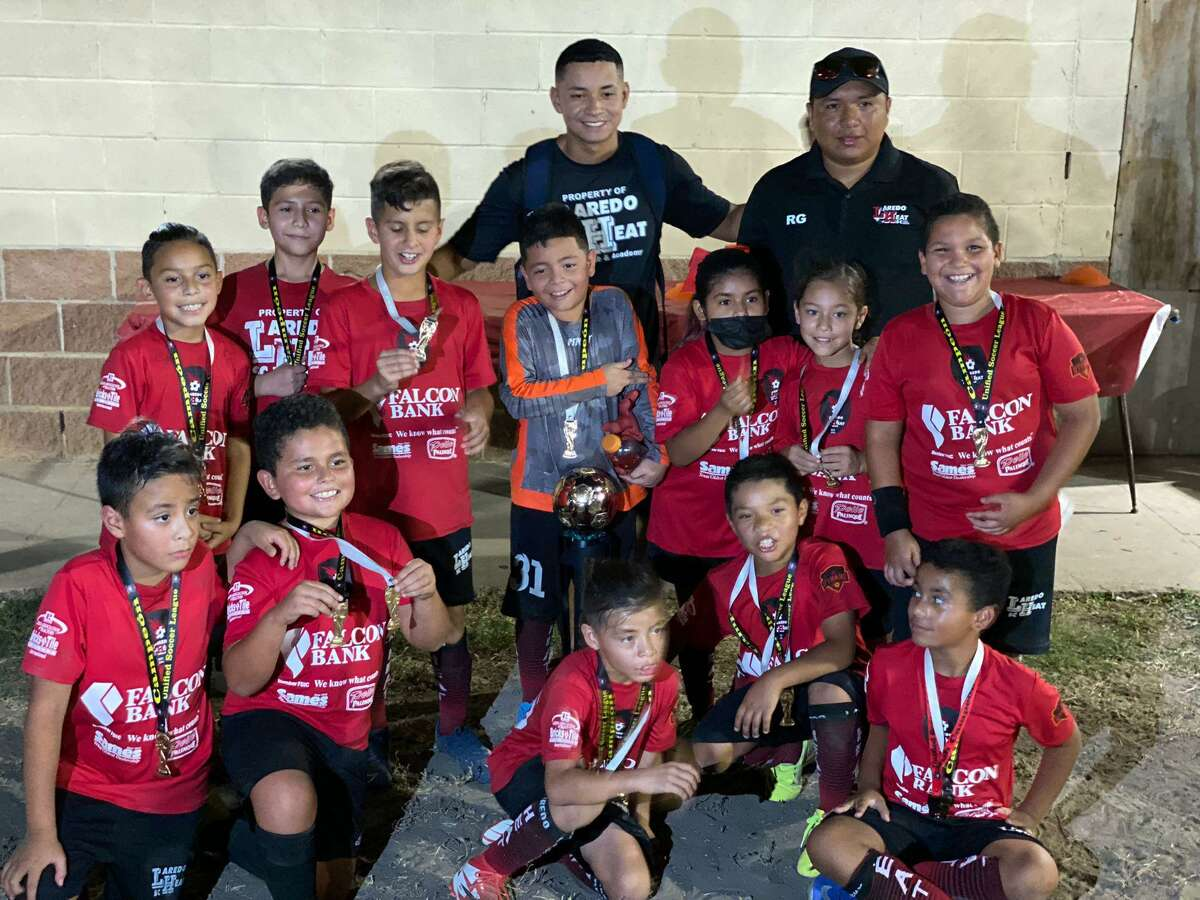 The Laredo Heat SC 2011 team beat the Rayados 3-2 in the championship game.