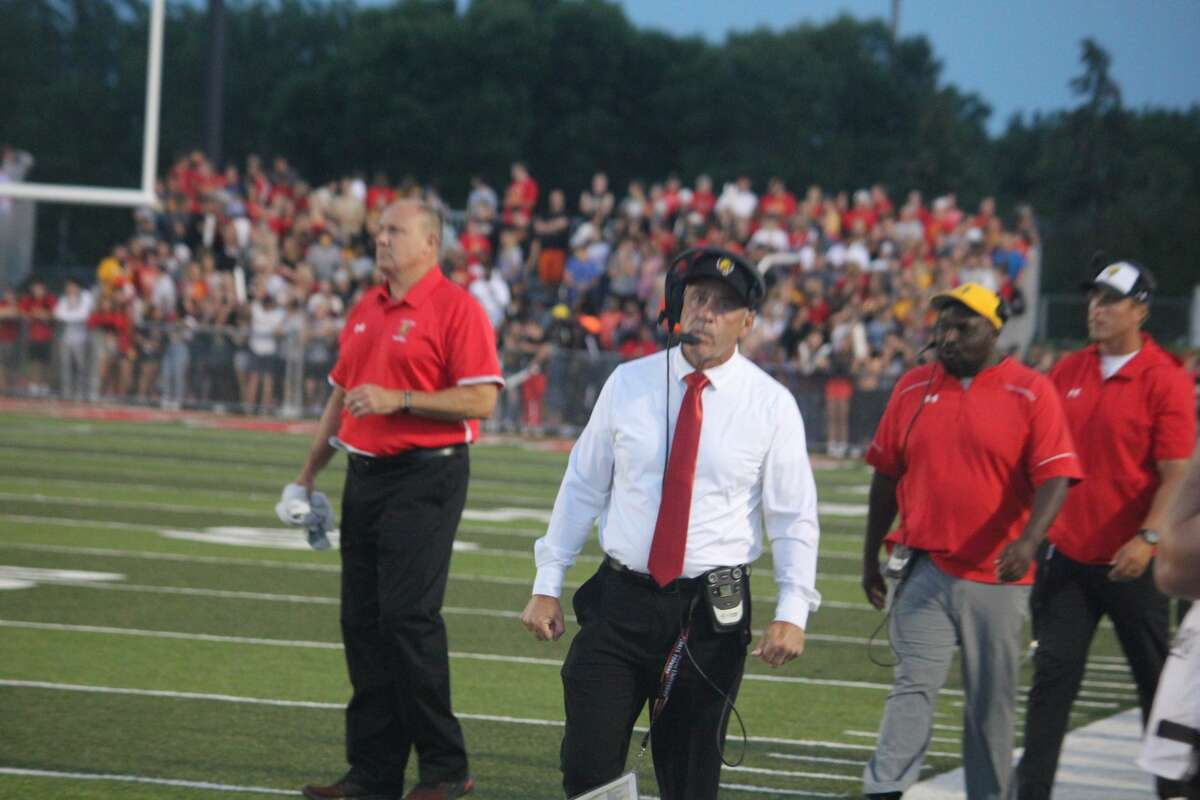 It was all Ferris in Thursday's 54-14 rout for the Bulldogs over Findlay in the season opener.