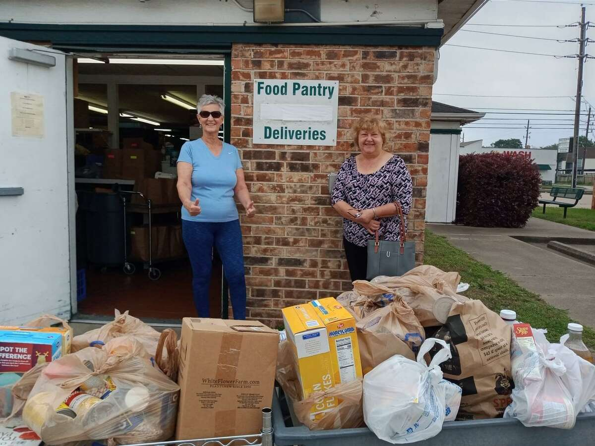 Cypress Assistance Ministries receives donations of food to help families and individuals in the Cy-Fair area.
