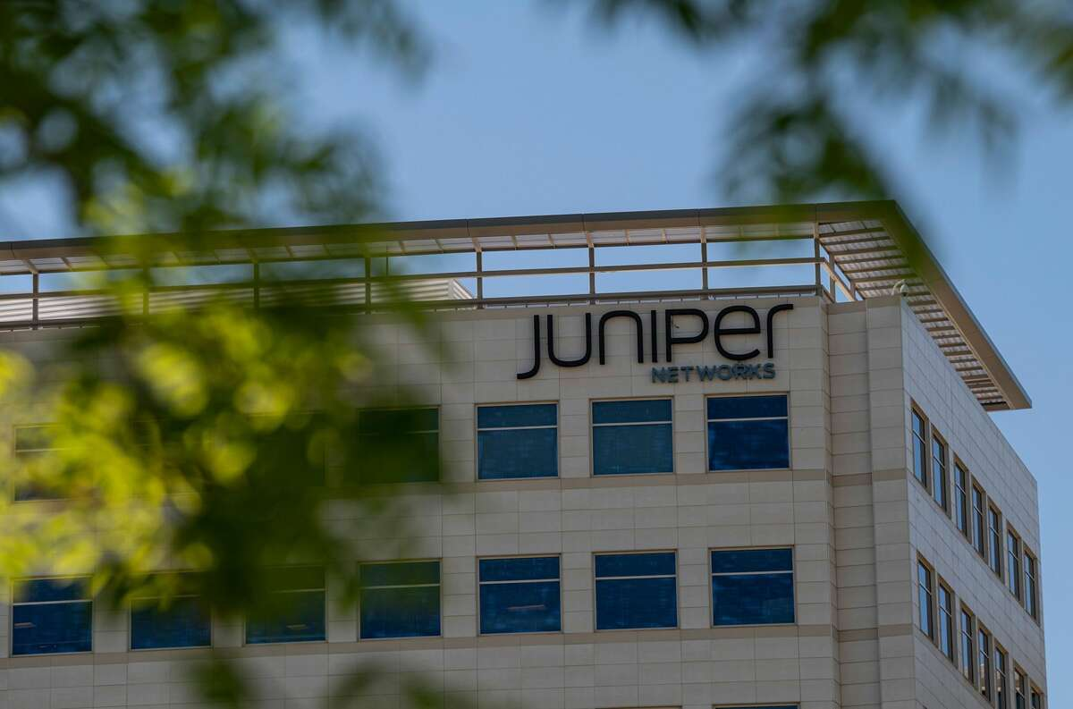 Juniper Networks Inc., headquarters in Sunnyvale, California, U.S., on Wednesday, June 2, 2021.