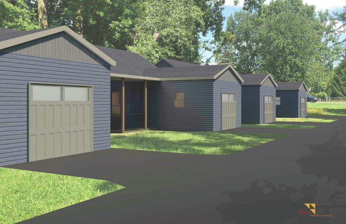 A rendering of Midland County Habitat for Humanity's new multifamily home. (Photo provided)