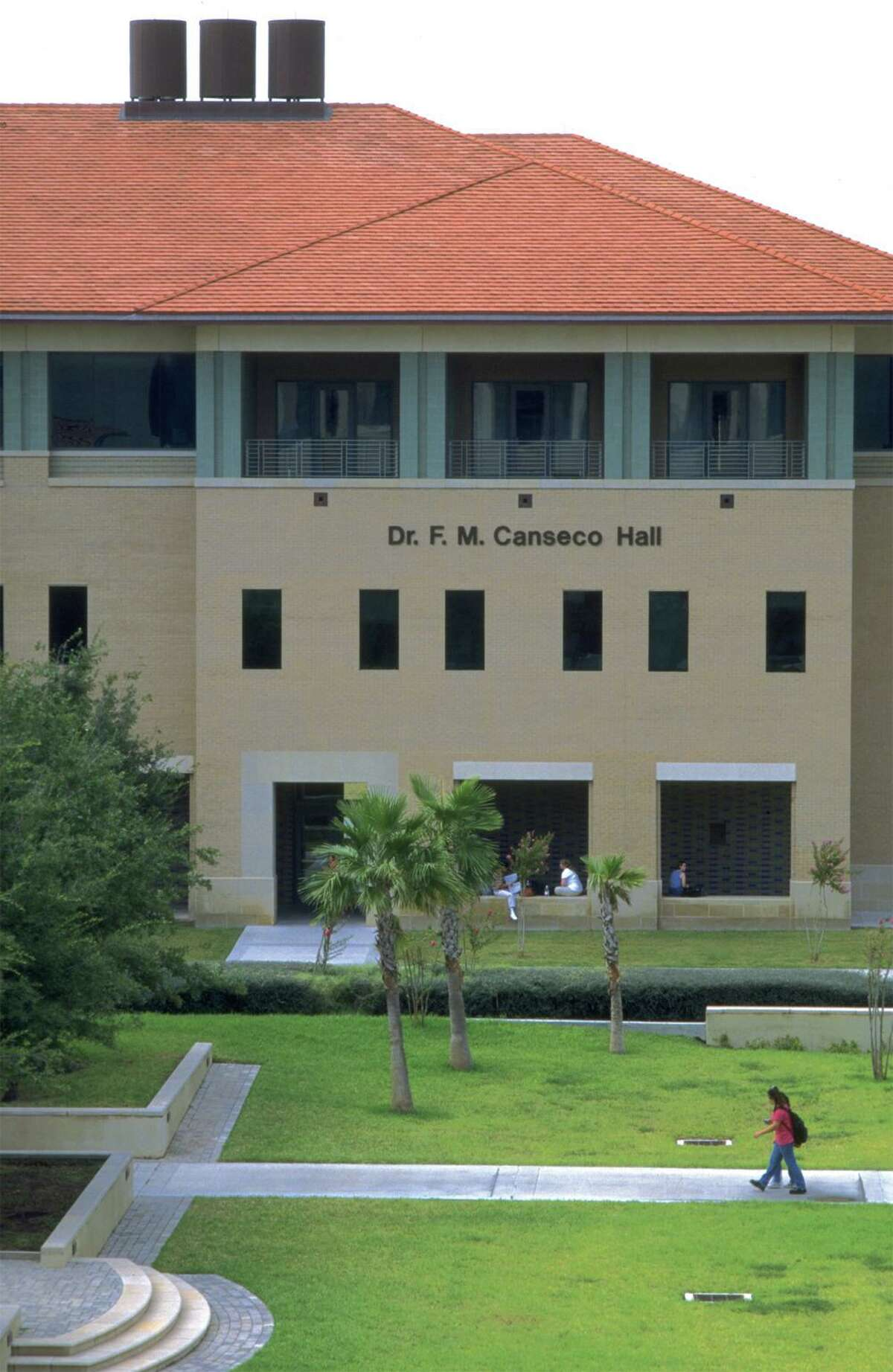 Pictured is the Dr. F. M. Canseco School of Nursing at TAMIU.