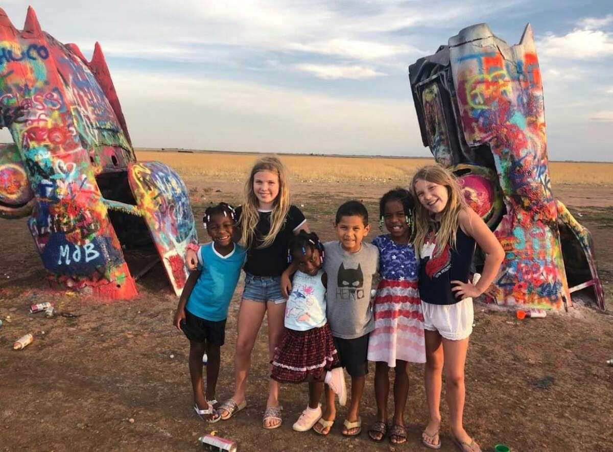 Kristin Finan, co-founder of Austin Travels Magazine, and her husband, Patrick Badgley, took their six children on a road trip in an RV in 2020 to keep their children away from crowds.