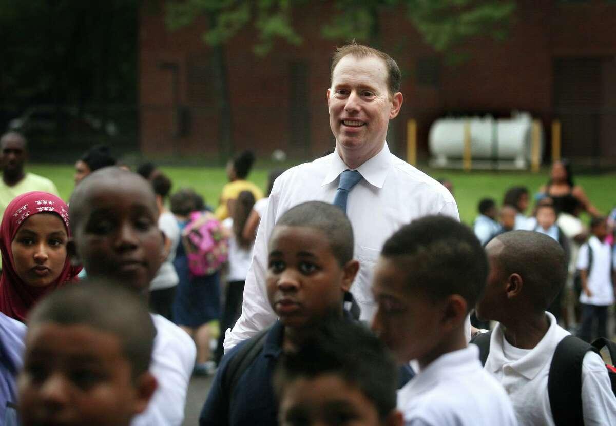 Brett Gustafson is principal of Curiale School in Bridgeport, Conn.