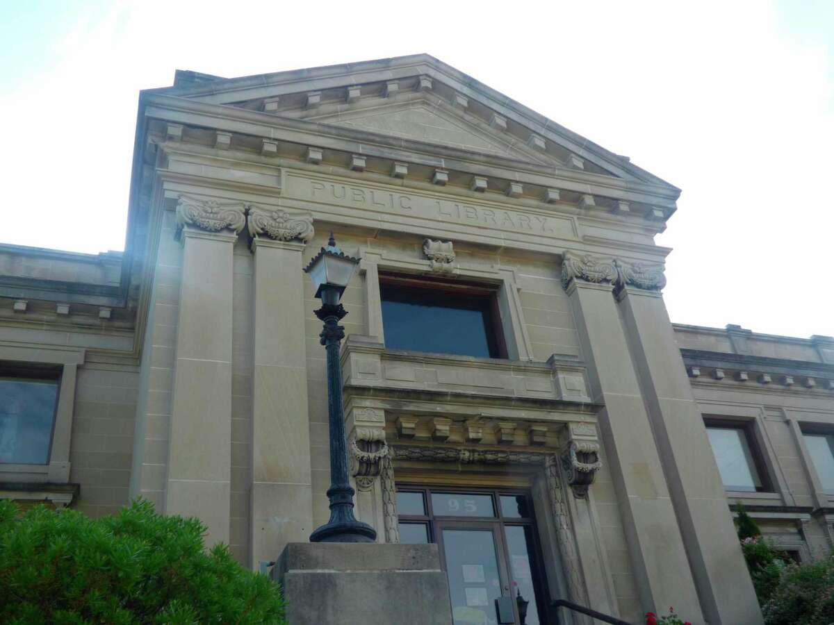 The Friends of the Manistee County Library rescheduled its outdoor book sale for Sept. 18 due to rain in the forecast. (File photo)