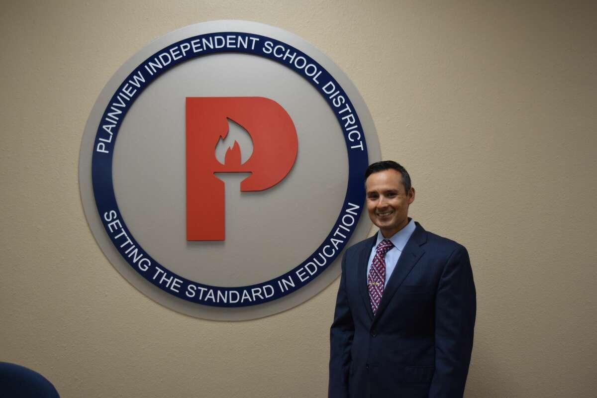 Plainview ISD Supertintendent H.T. Sanchez.