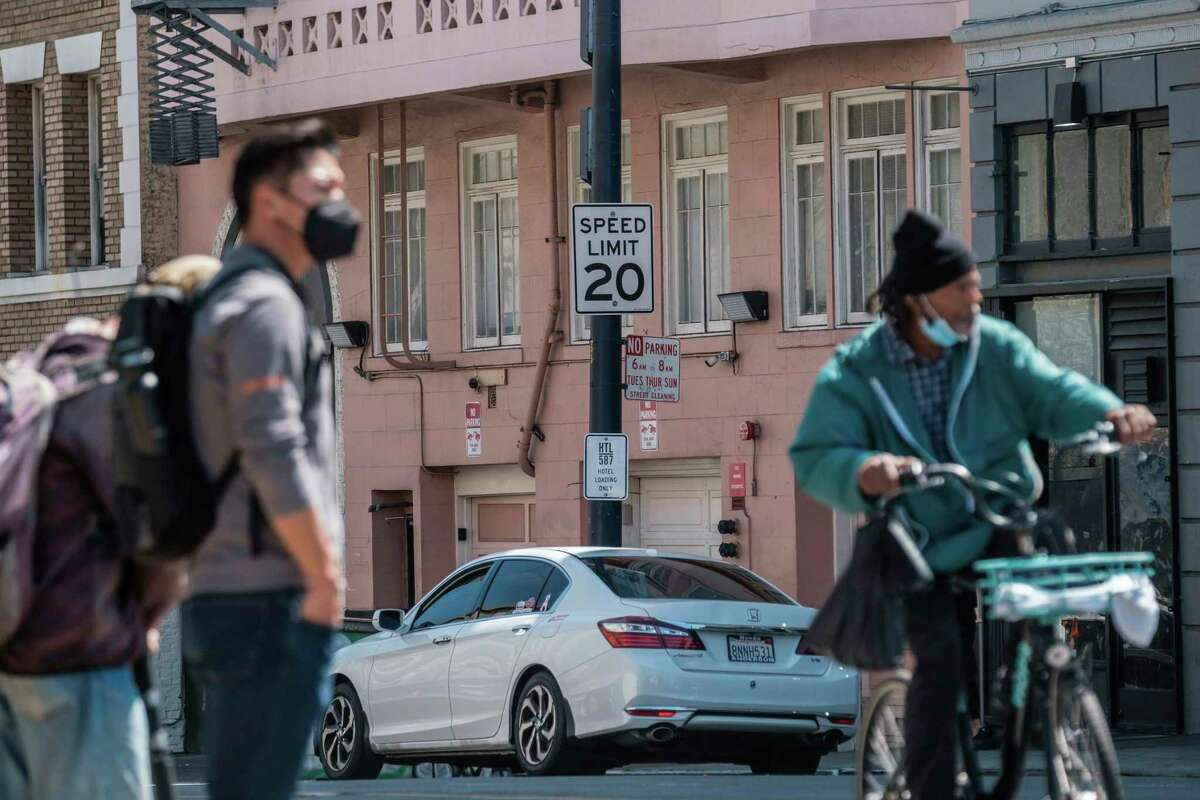 The streets of San Francisco's Tenderloin neighborhood are some of the city's most dangerous, crowded with cars and pedestrians. The city hopes a proposed bill in the state Legislature passes to allow it more freedom to set lower speed limits.
