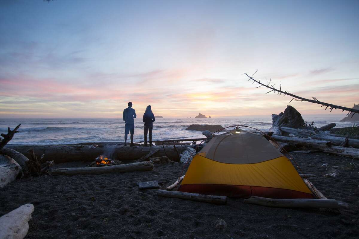 Those going camping over the long holiday weekend will want to pack their rain tarp and check local burn bans before heading out.