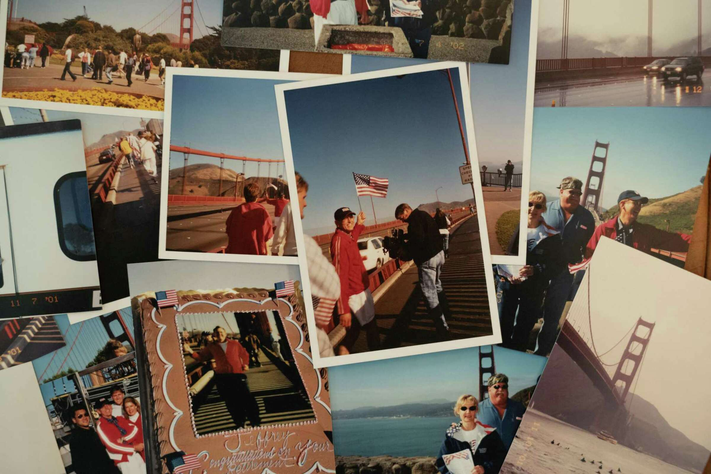 The story of S.F.'s 'Flag Man'