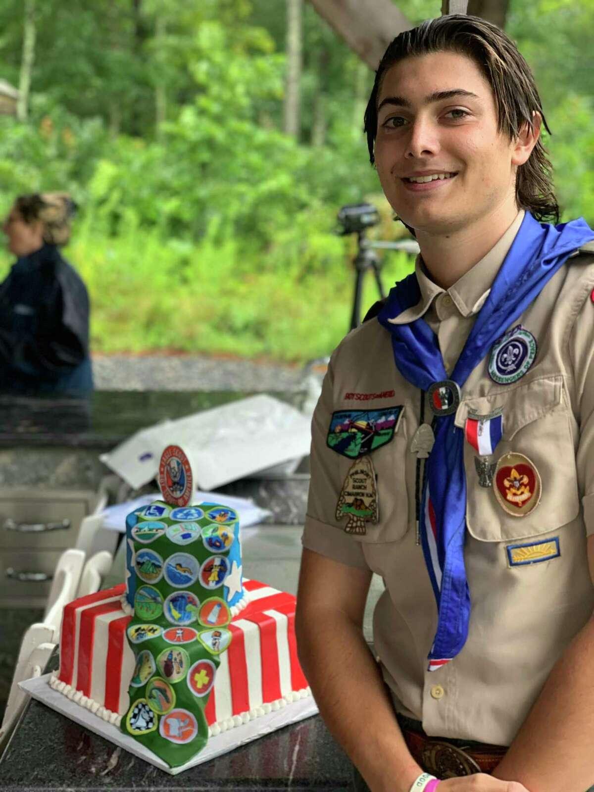 Eagle Scout Reinhold (Bill) Hekeler III.