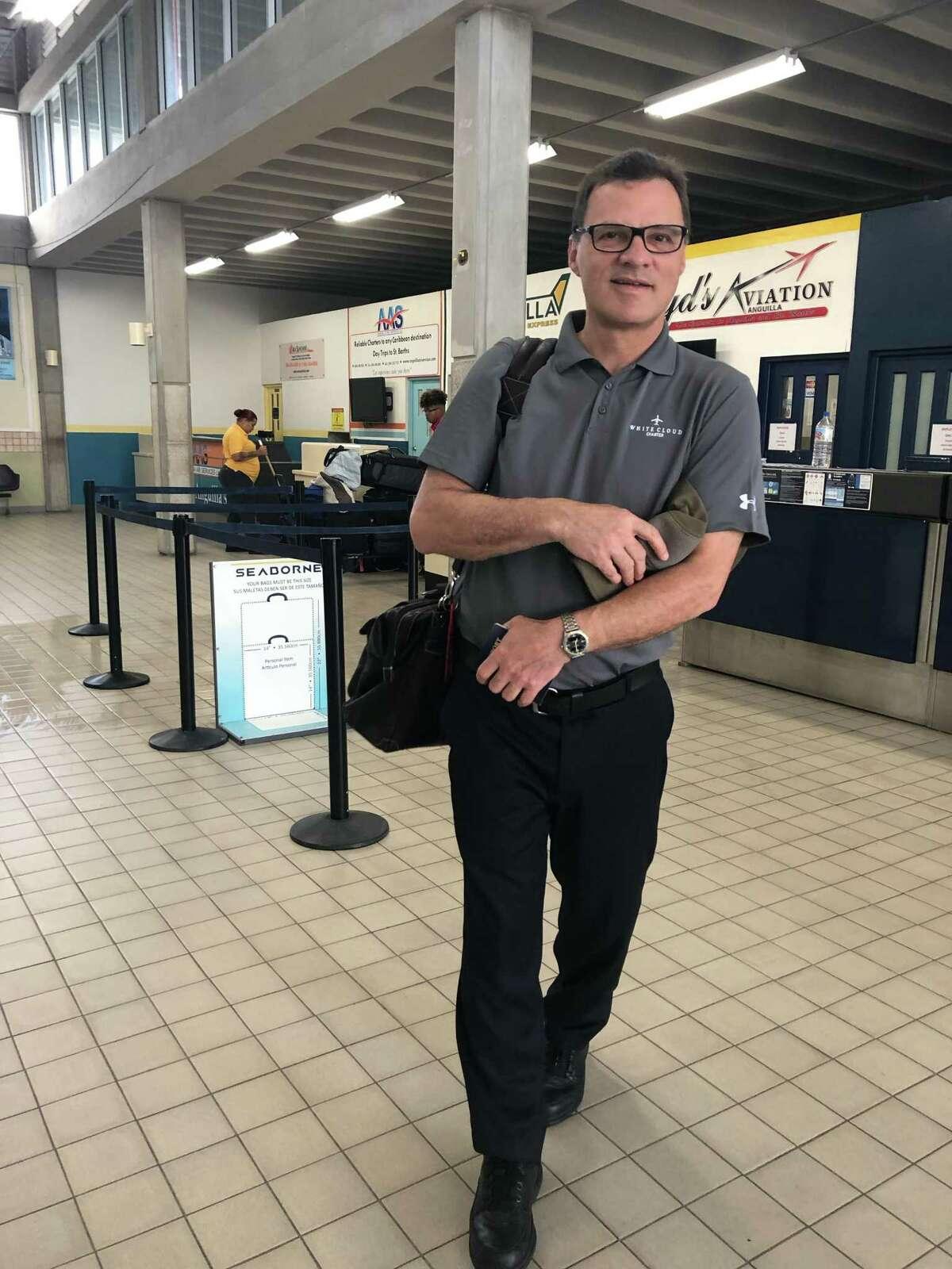 Pilot Mark Morrow, 57, of Danbury, was one of four people killed in a plane crash in Farmington on Thursday, Sept. 2, 2021.