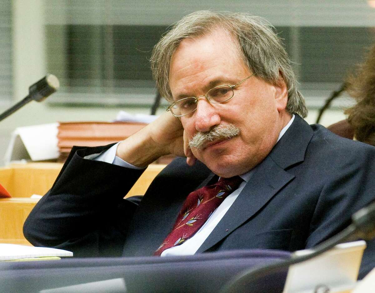 David Golub of Stamford, a veteran courtroom lawyer.