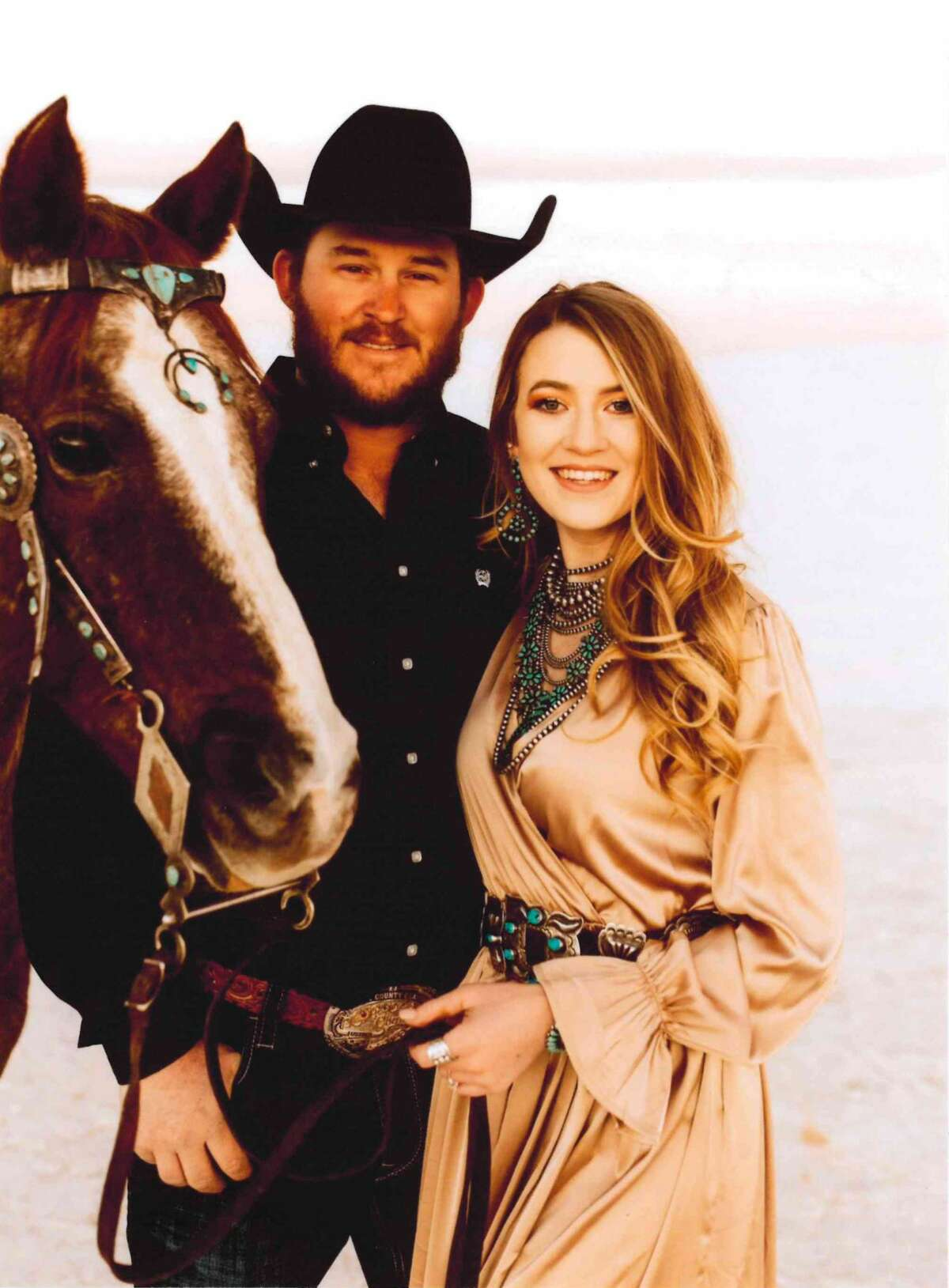 Cort Ayler Smith will wed Colti ShyAnn Wright on Sept. 25, 2021 in Caballo, New Mexico.