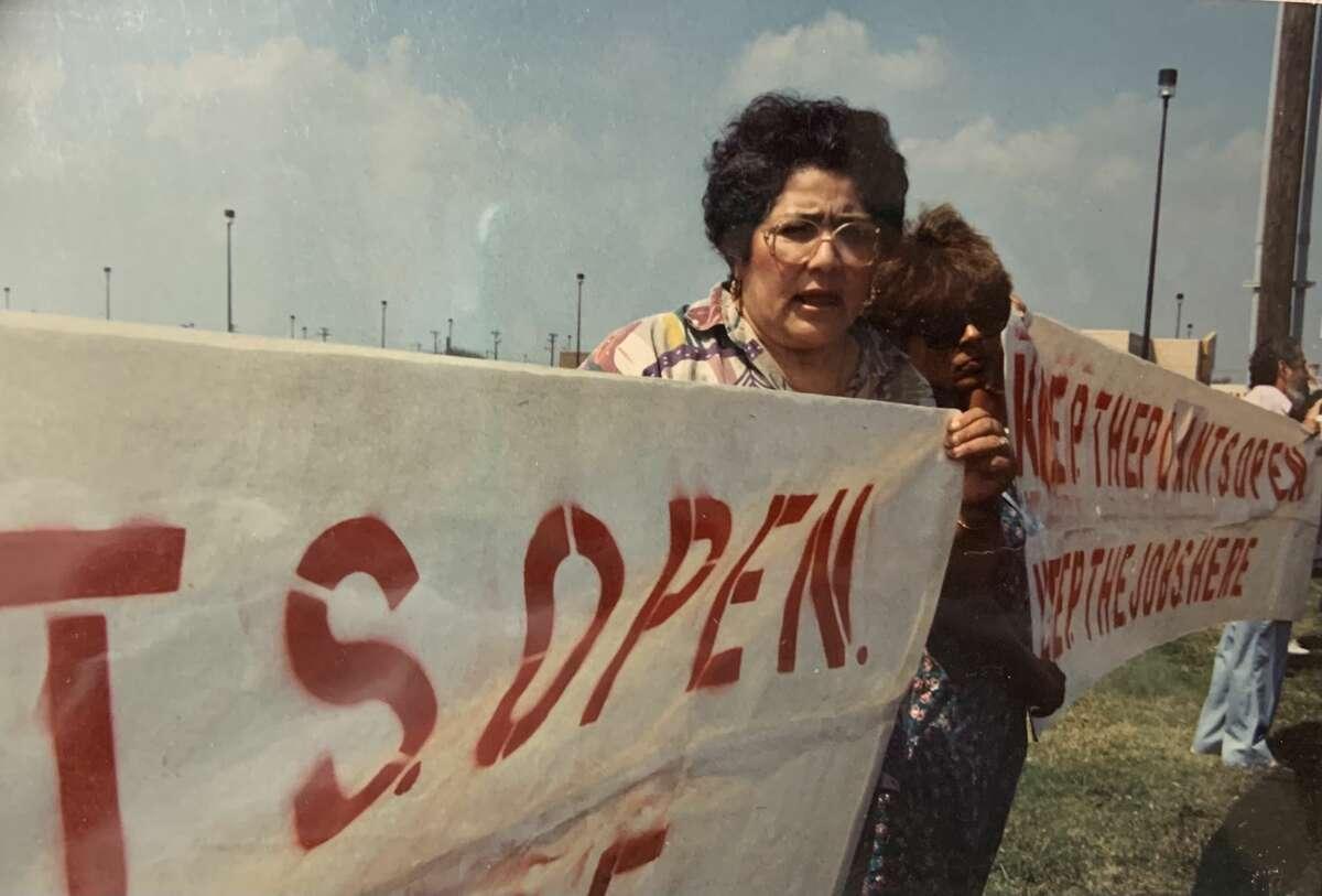 Fuerza Unida protestas en la década de 1990.