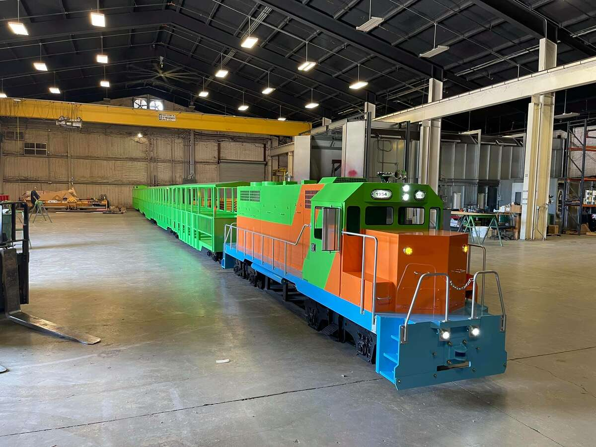 San Antonio Zoo CEO Tim Morrow tells MySA the three locomotives currently in use at the Train Depot Shop will be retired soon.Two of the trains were built in the 1980s and the newest joined in 1990.