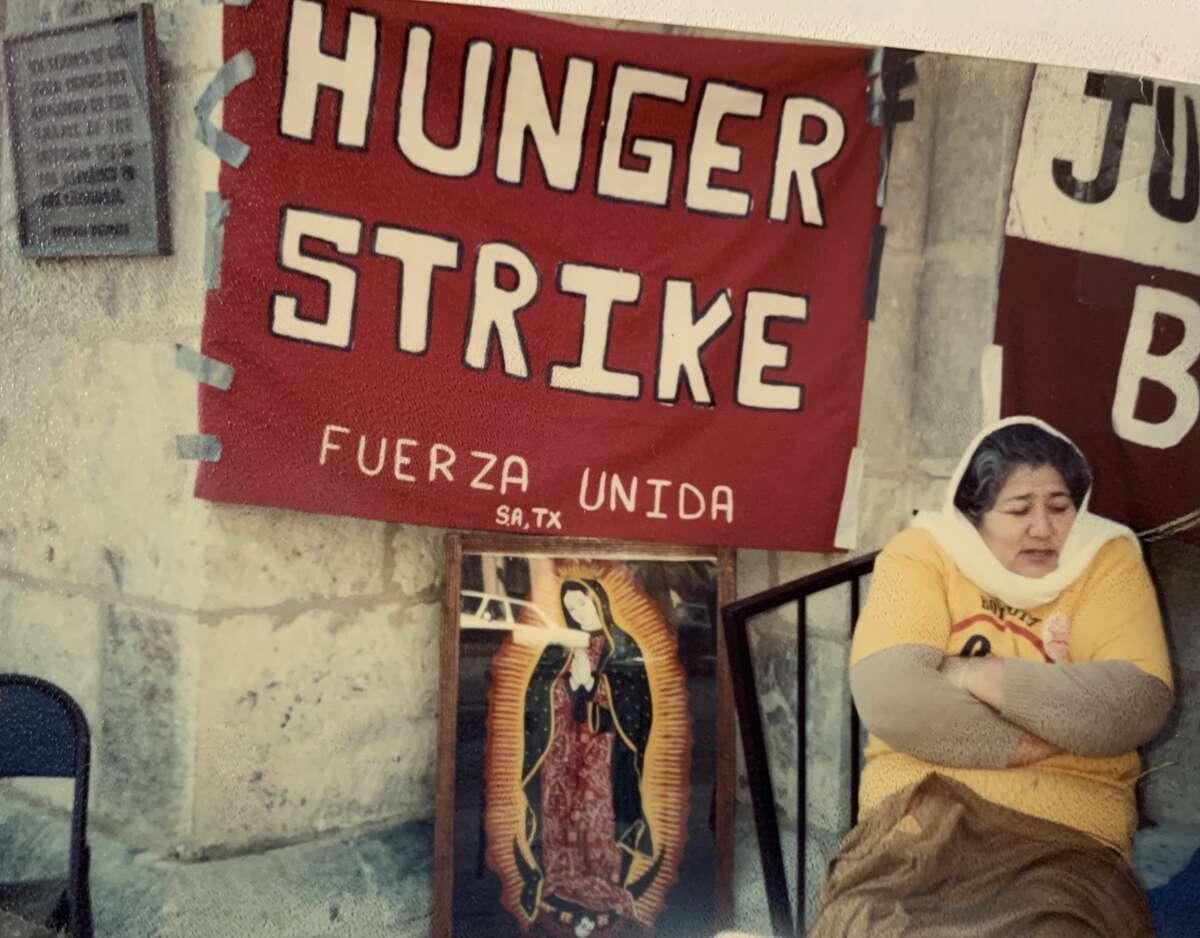 Huelga de hambre de las Fuerzas Unidas en San Antonio Texas 1993.