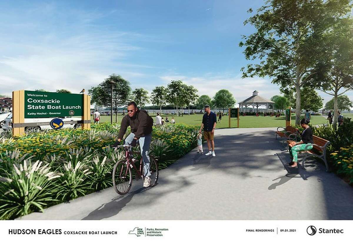 Here are renderings of the newly designated Hudson Eagles Recreation Area to be developed in Coxsackie.