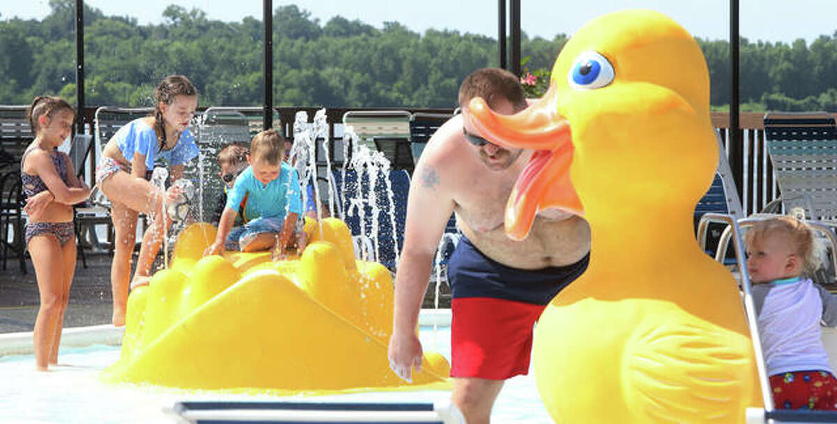 Raging Rivers Water Park at 100 Palisades Parkway in Grafton will have its final day of the season Monday, Sept. 6, from 10 a.m. to 6 p.m.