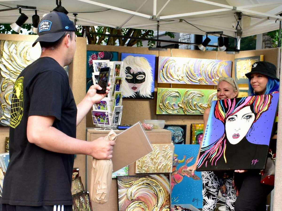 First Saturday Arts Market is held the first Saturday of every month at 540 W. 19th St. Houston TX. 77008