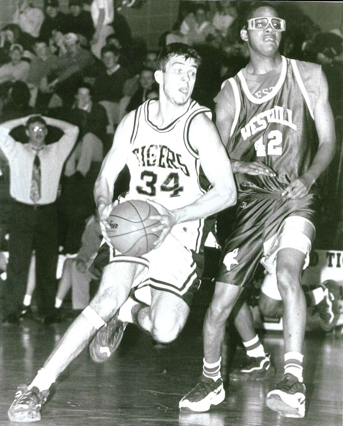 Ridgefield High School graduate Tyler Ugolyn wore the no. 34 when he played for the Tigers. The number is synonous with greatness among players in the program as generations of student athletes have modeled themselves in Ugolyn's image. Ugolyn was killed in the Sept. 11 terrorist attacks.