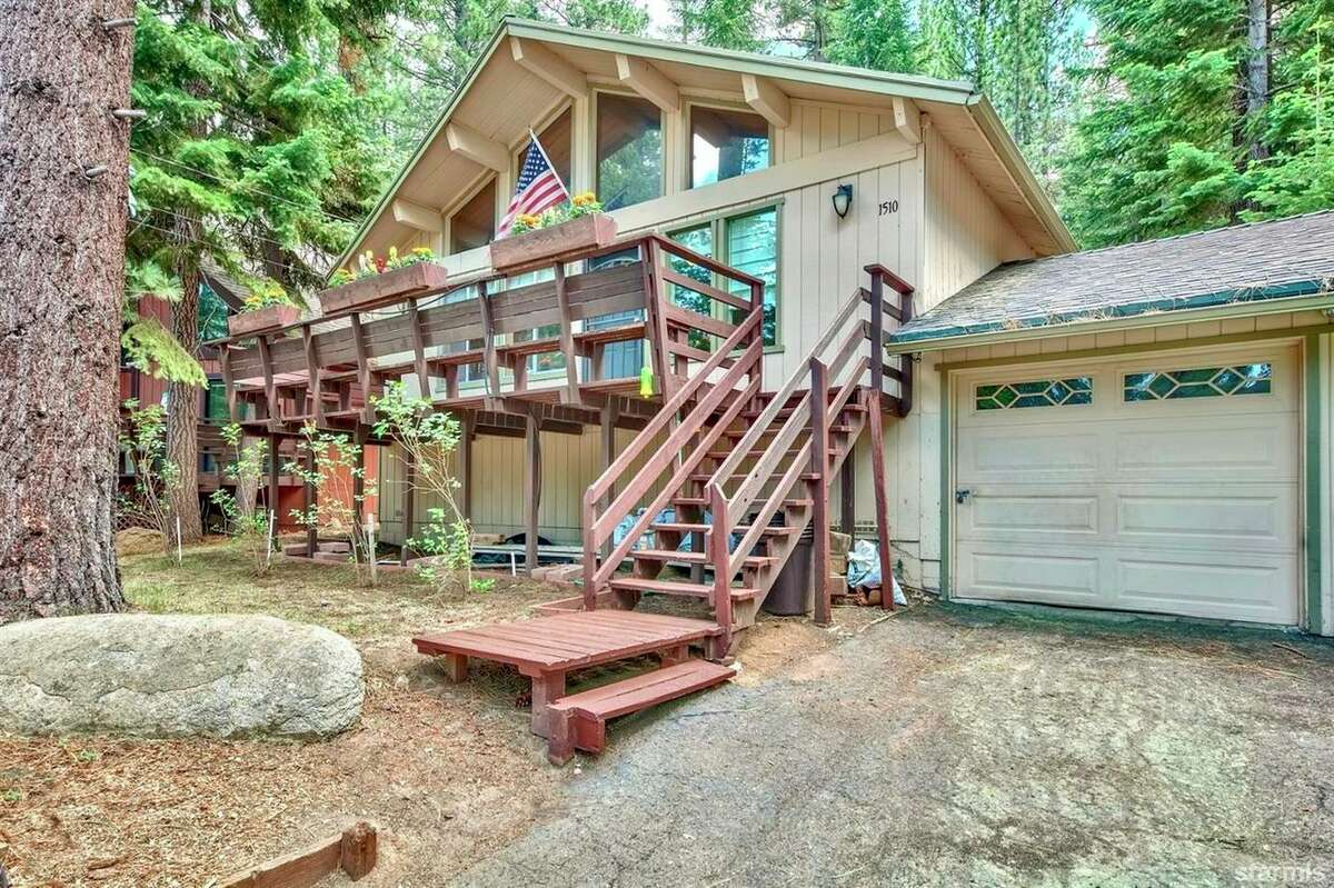 The three-bedroom South Lake Tahoe home at 1510 Ojibwa St. sold on Sept. 3 despite being near the Caldor Fire.
