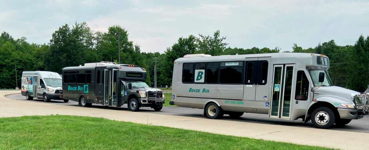 Benzie Bus is ready to mobilize its fleet to help athletes and spectators get around during the Ironman event and the days leading up to it. (Courtesy photo)