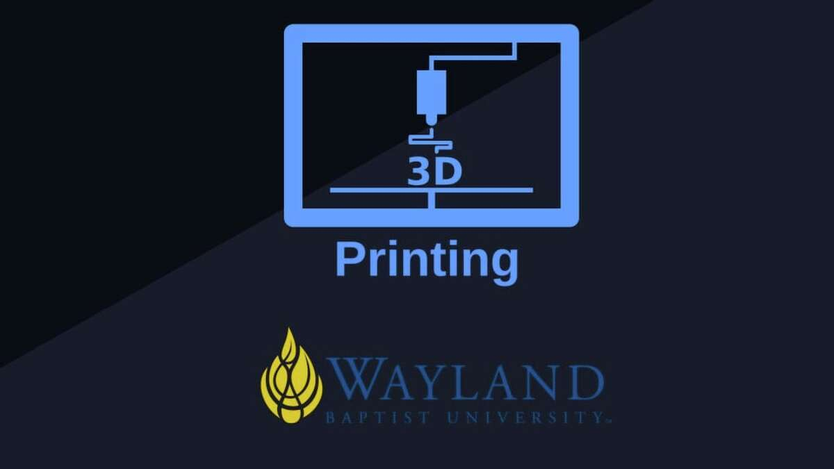 Over the past few years, the Wayland Baptist University Pioneer Maker Academy has been slowly adding to its available 3D printing technologies. Thanks to another grant recently received from the Xcel Energy Foundation, the Pioneer Maker Academy added one more piece to its collection.