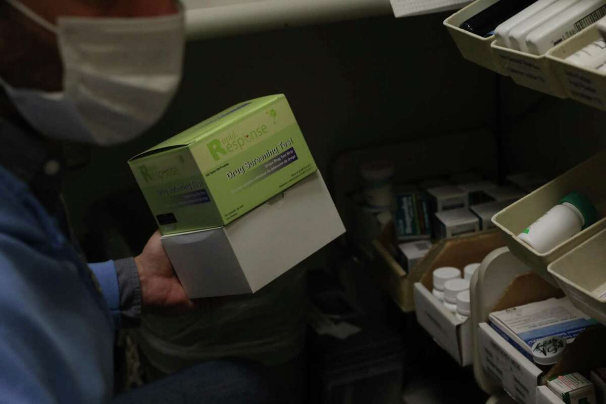 The new Street Overdose Response Team distributes risk reduction supplies, including fentanyl test kits, to help reduce fatal overdoses in San Francisco.