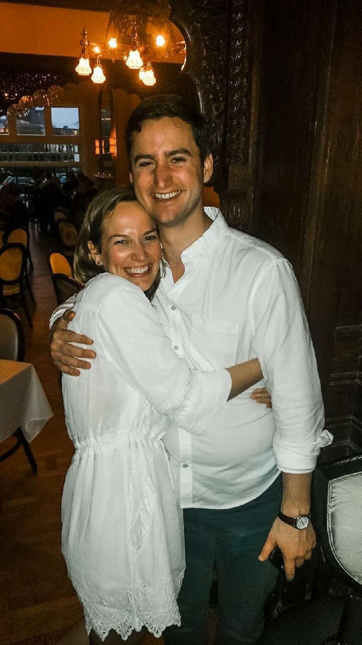 Dr. Courtney Haviland, 33, and Dr. William Shrauner, 32, of Boston, Mass. The two were very family-oriented and loved helping people, a family friend said.