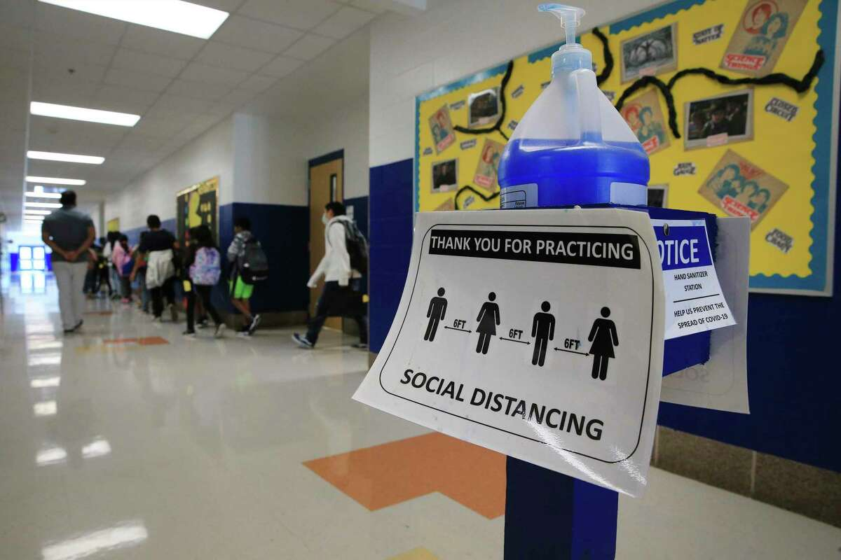 Lockhart ISD is now requiring masks on campus due to nearly 800 students being quarantined due to COVID-19 cases.