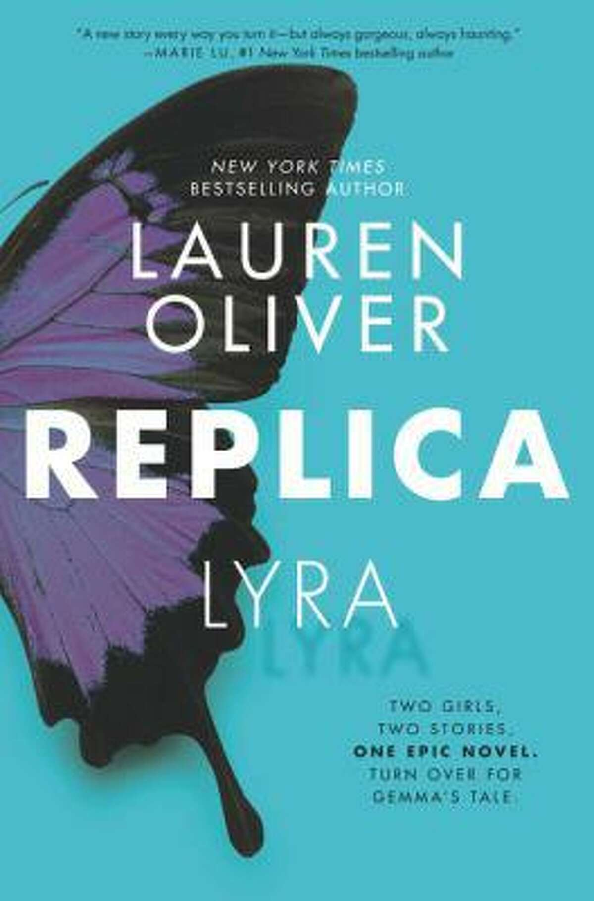 On Sept. 8, the YA book club will discuss 'Replica' by Lauren Olivier.