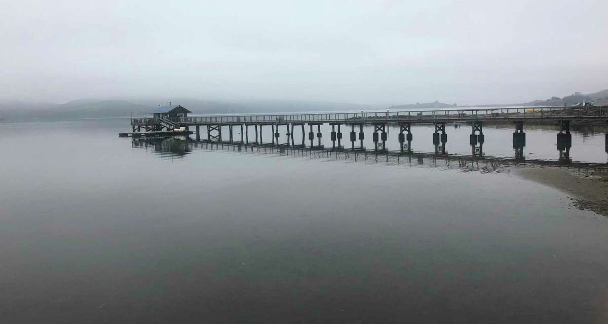 The pier at Nick's Cove, Tomales Bay