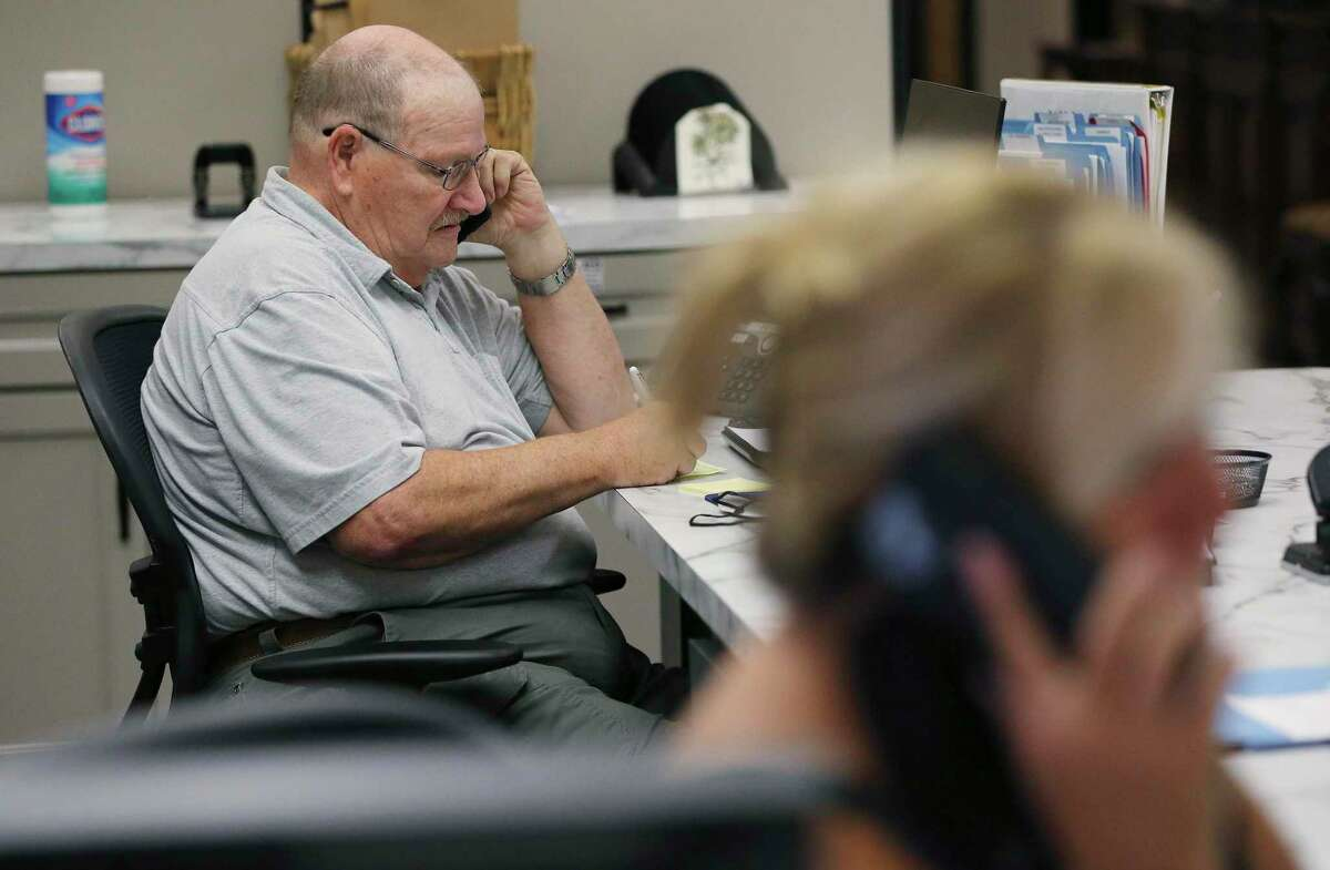 Volunteer Nathan Hastings is part of the San Antonio Oasis Silver Connect chatline that connects older adults who are lonely during pandemic. The service is open to adults 50 years and above. The program began at the end of July, but the big kickoff is Sept. 7. Hours for the program are Monday through Friday, 5 p.m. to 9 p.m., and Saturday and Sunday, 9 a.m. to 9 p.m. In addition to offering emotional support, the Silver Connect Line also helps with grief support through assistance, reassurance, information and referrals.