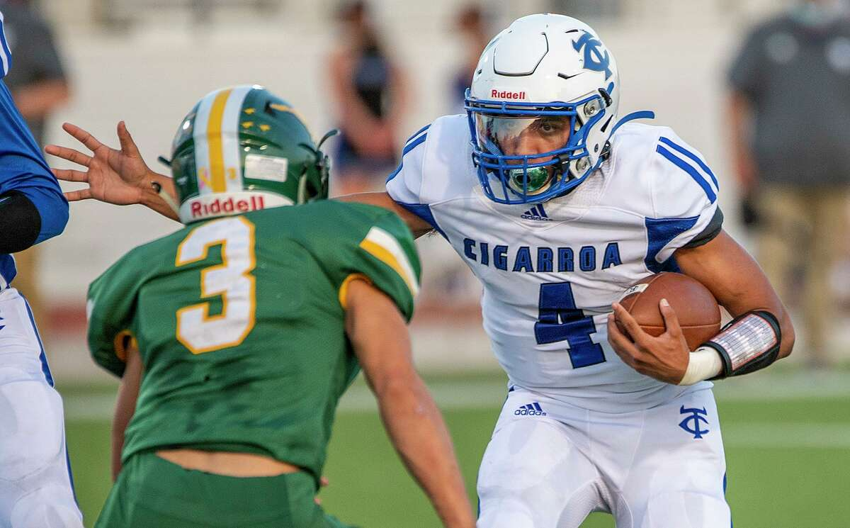 Cigarroa's Ya'aqob Lozano rushed for 172 yards and two touchdowns Friday in a 22-21 victory over Nixon at Shirley Field. Both scores and 131 of those yards came in the second half as Lozano keyed a comeback effort.