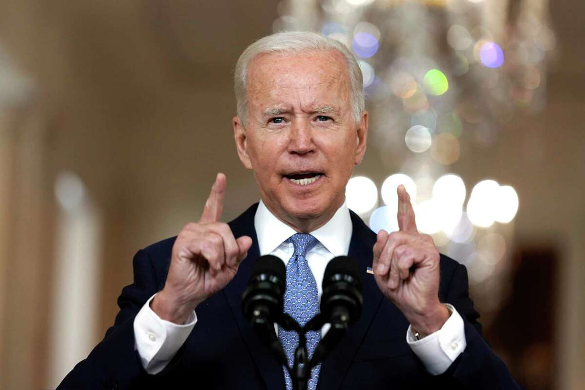 President Joe Biden delivers remarks Aug. 31 on ending the war in Afghanistan. The president is under fire for how the withdrawal played out.