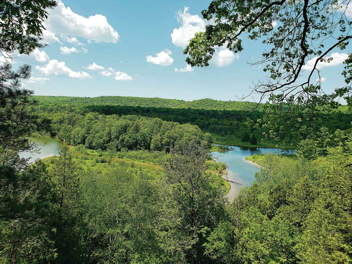 The Big Manistee River Trail offers some of the best views around. (File photo)