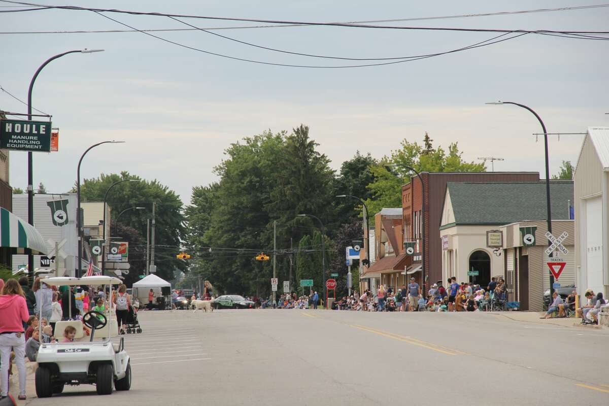 Elkton residents welcomed back their Autumnfest with plenty of fun weekend activities. Those included a parade through the village center, inflatables for kids to play on, and a kiddie tractor pull.
