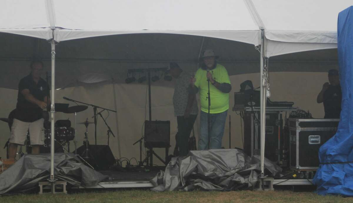 LaborFest was held at First Street Beach on Saturday. The show carried on through significant rain.