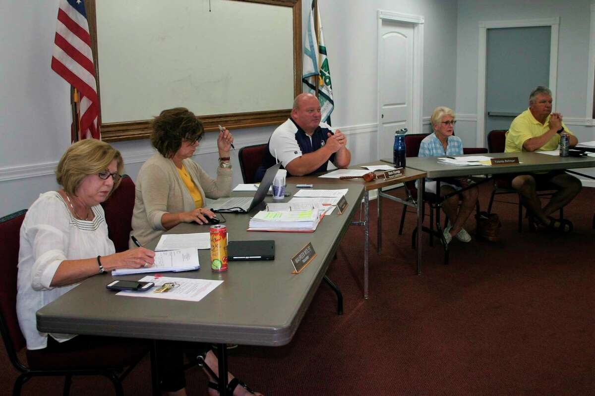 The Morton Township board of trustees approved a special assessment district for the Tri Lakes area for the purpose of controlling the gyps moth population during a special meeting in August. The tax roll for the assessment was approved this week. (Pioneer photo/Cathie Crew)