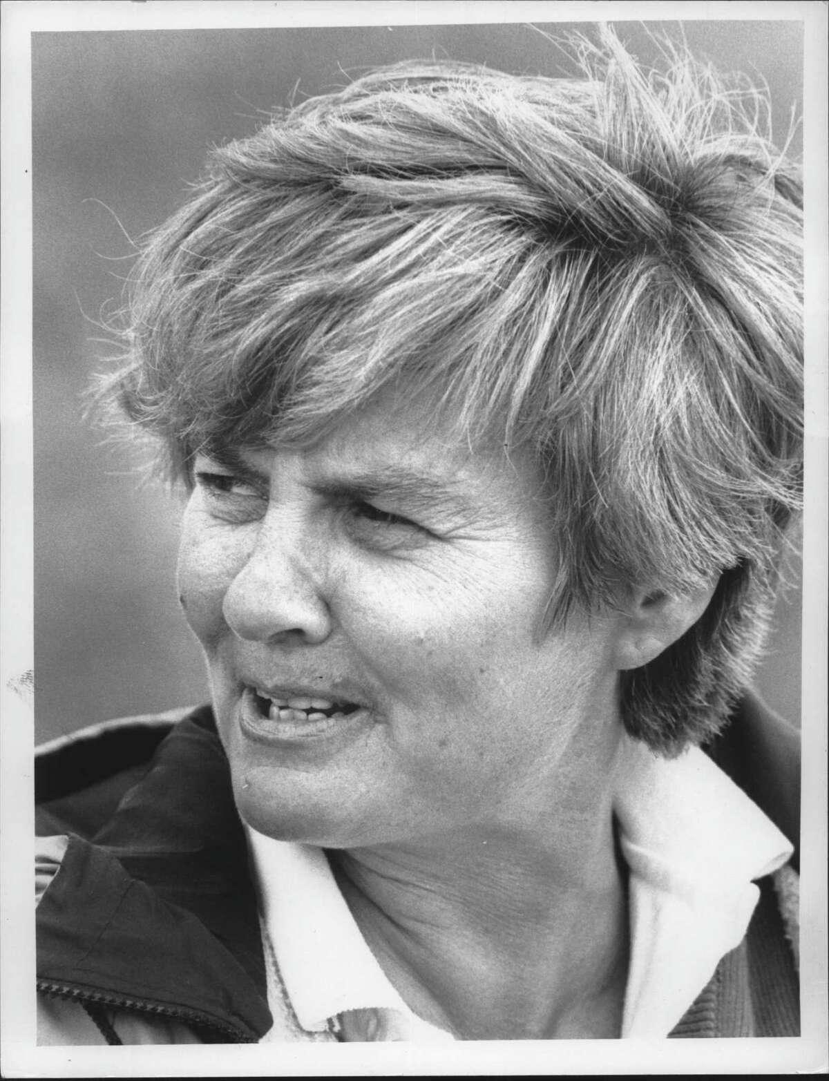 Shenendehowa High School girls' varsity soccer coach Jan Federice, back in 1988.
