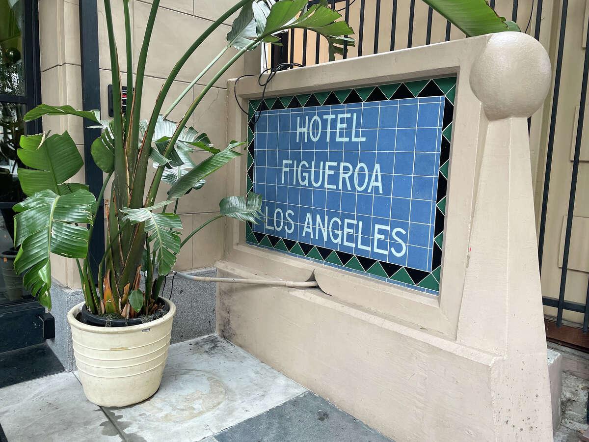 Hotel Figueroa, Los Angeles, California.