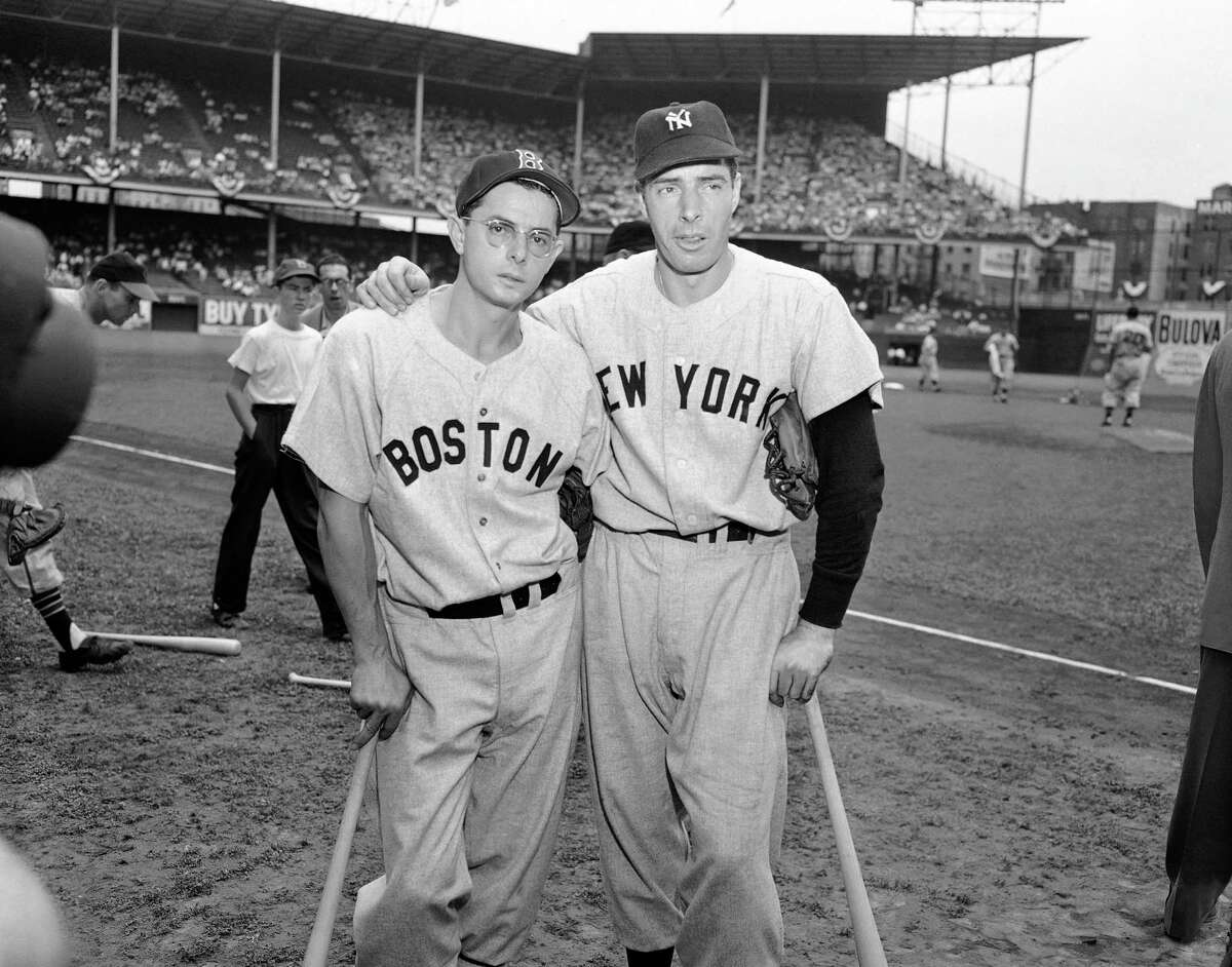 Dom DiMaggio (left) spent his career in the shadow of brother Joe, but he posted numbers worthy of the Hall of Fame.
